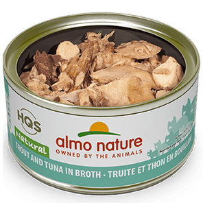 Almo Nature Almo Nature Natural Trout & Tuna Cat Can 2.47 oz Product Image