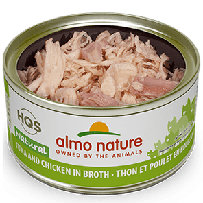 Almo Nature Almo Nature Natural Tuna & Chicken Cat Can 2.47 oz Product Image