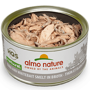 Almo Nature Almo Nature Natural Tuna & White Bait Cat Can 2.47oz Product Image