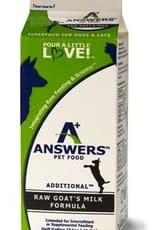 Answers Answers Frozen Additional Goat's Milk Half Gal Product Image