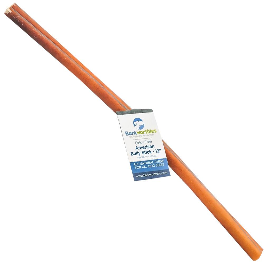 """Barkworthies Barkworthies 12"""" Bully Stick Odor Free Product Image"""