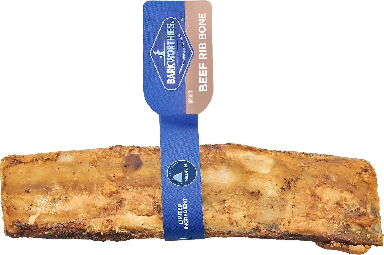 "Barkworthies Barkworthies Beef Rib Bone 5-6"" Product Image"
