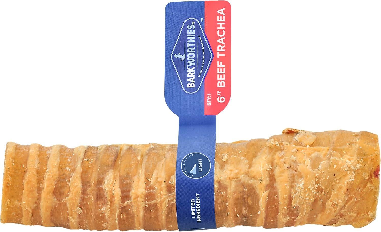 """Barkworthies Barkworthies Beef Trachea 6"""" Product Image"""