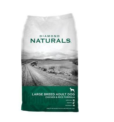 DIAMOND PET FOODS Diamond Naturals Large Breed Chicken and Rice Dog Dry 40lbs Product Image