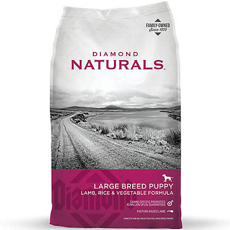 DIAMOND PET FOODS Diamond Naturals Large Breed Puppy Lamb, Rice, and Vegetable Dog Dry 6lbs Product Image