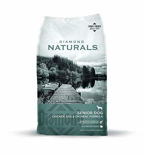 Diamond Diamond Naturals Senior 8+ Chicken, Egg, Oatmeal Dry Dog 35lbs Product Image