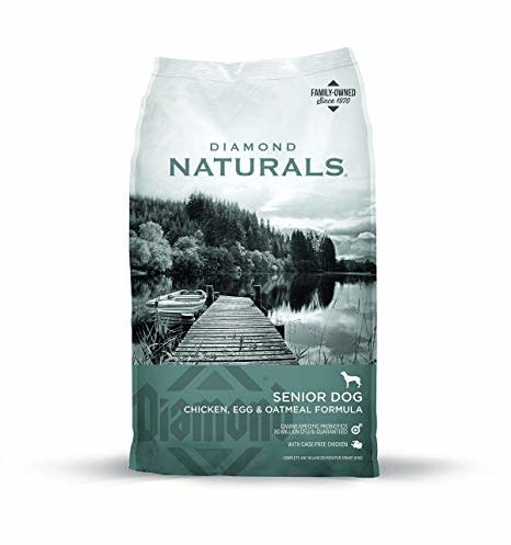 DIAMOND PET FOODS Diamond Naturals Senior Dog Chicken, Egg, and Oatmeal Dry 6lbs Product Image