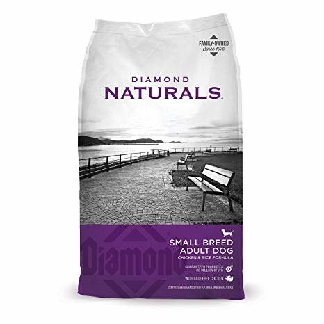 DIAMOND PET FOODS Diamond Naturals Small Breed Chicken and Rice Dog Dry 18lbs Product Image