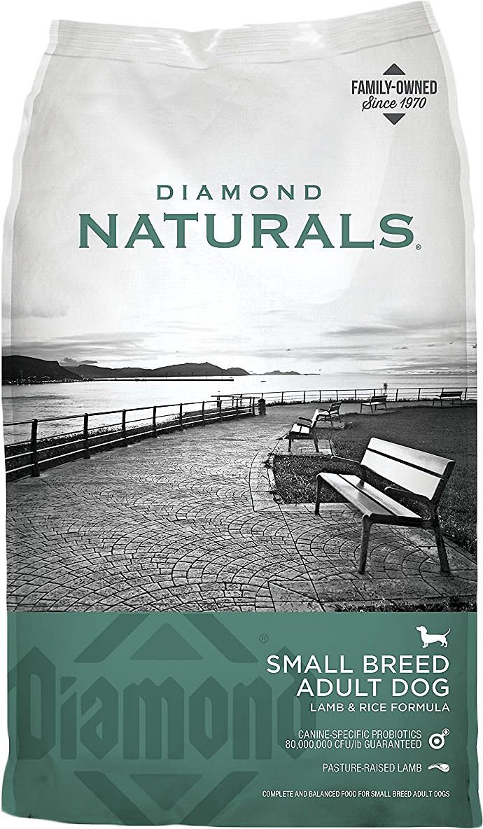 DIAMOND PET FOODS Diamond Naturals Small Breed Lamb and Rice Dog Dry 6lbs Product Image