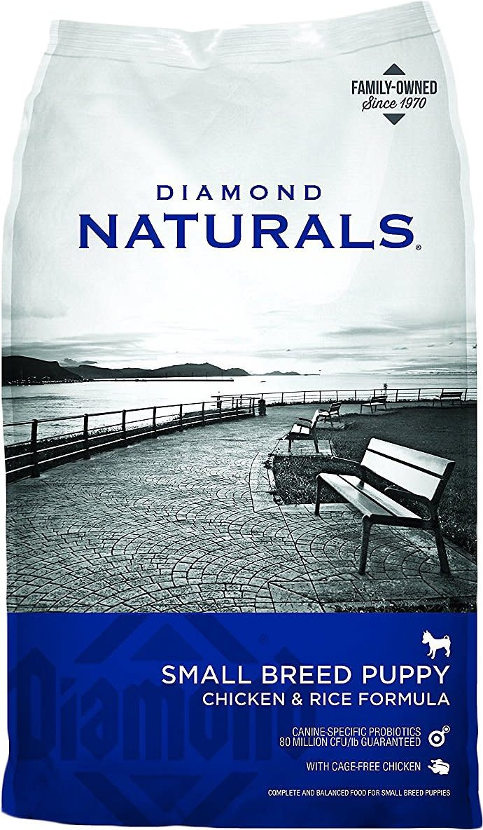 DIAMOND PET FOODS Diamond Naturals Small Breed Puppy Chicken and Rice Dog Dry 6lbs Product Image