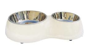 Hagen Dogit Double Diner, White Product Image