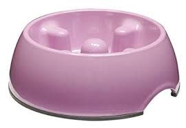 Hagen Dogit Go Slow Anti-Gulping Bowl, Pink, Small Product Image
