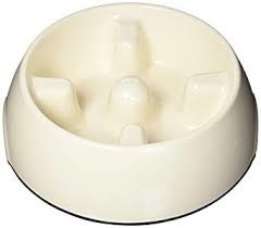 Hagen Dogit Go Slow Anti-Gulping Bowl, White, X-Small Product Image