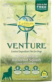 Earthborn Holistic Earthborn Venture Limited Ingredient Diet Turkey Meal & Butternut Squash 25lbs Product Image