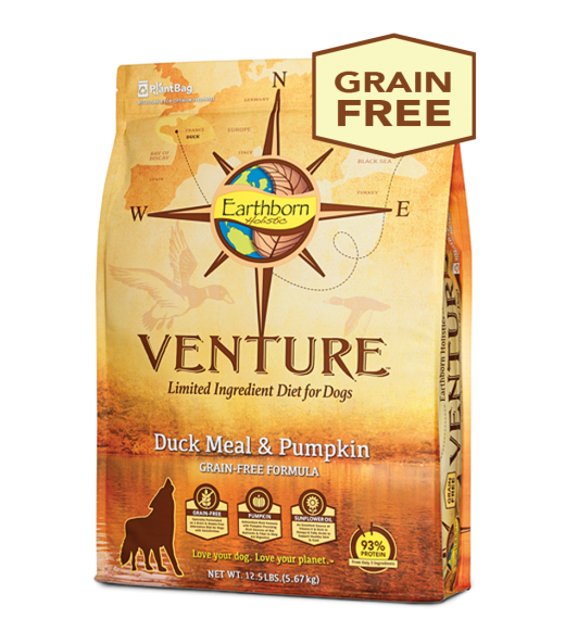 Earthborn Holistic Earthborn Venture Limited Ingredient Diet Duck Meal & Pumpkin 12.5lbs Product Image