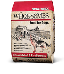 Sportmix Sportmix Wholesomes Chicken Meal and Rice 40lbs Product Image