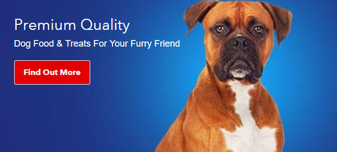 premium quality dog food treats