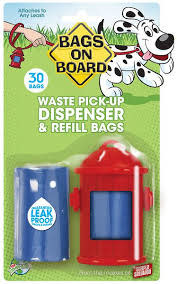 Bramton Bags on Board Dispenser Fire Hydrant with 30 Bags Product Image