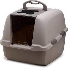 Hagen Catit Jumbo Cat Litter Pan, Grey Product Image