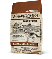 Sportmix Sportmix Wholesomes Beef Meal and Rice 40lbs Product Image