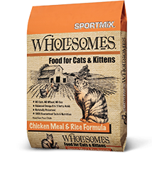 Sportmix Sportmix Wholesomes Chicken Meal & Rice Cat Food 15# Product Image