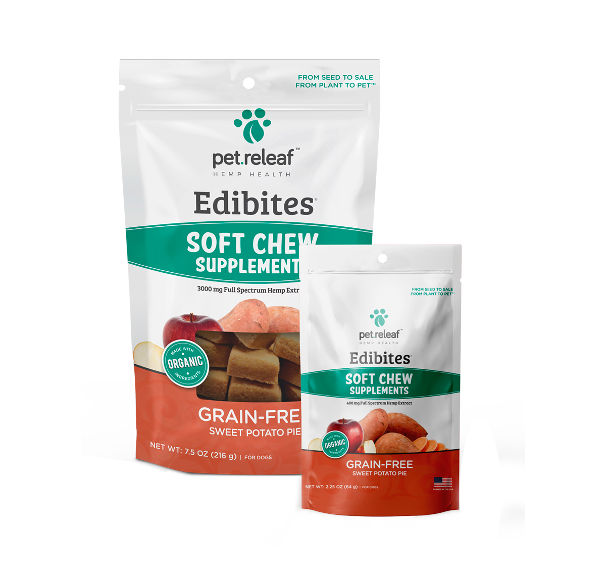 Pet Releaf Pet Releaf Edibites Soft Chew Sweet Pot Pie 7.5oz Product Image