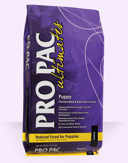 Pro Pac Pro Pac Ultimates Puppy Chicken Meal & Brown Rice 28lbs Product Image
