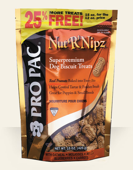"Midwestern Pet Wholesomes Nut""R""Nipz Biscuits 2lb Product Image"