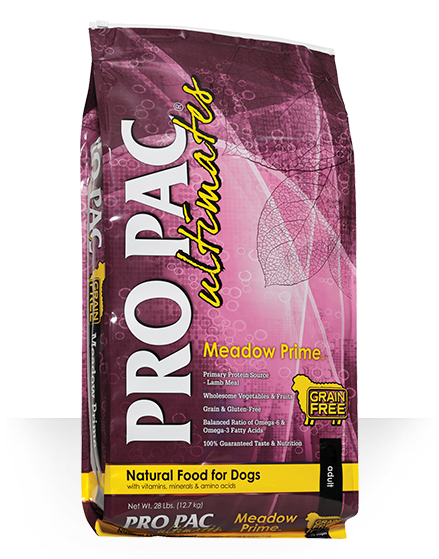Pro Pac Pro Pac Ultimates Meadow Prime Grain Free Lamb & Potato 28lbs Product Image