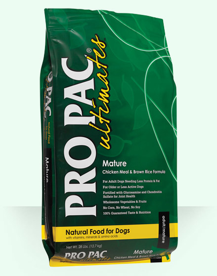 Pro Pac Pro Pac Ultimates Mature Chicken Meal & Brown Rice 28lbs Product Image