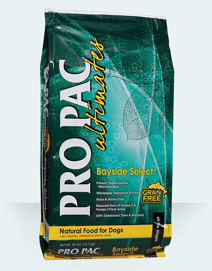 Pro Pac Pro Pac Ultimates Bayside Select Grain Free Whitefish & Potato 28lbs Product Image
