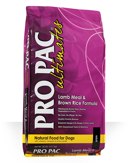 Pro Pac Pro Pac Ultimates Lamb Meal & Brown Rice 28lbs Product Image