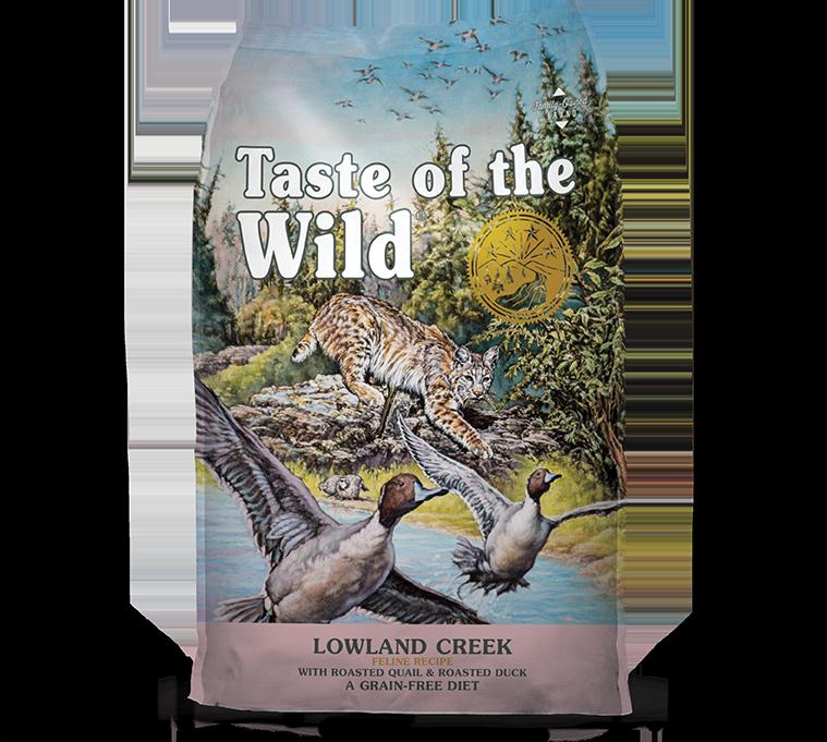 DIAMOND PET FOODS Taste of the Wild Lowland Creek Feline 5lbs Product Image