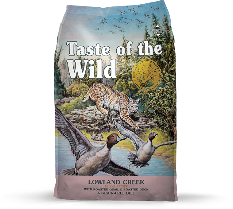 DIAMOND PET FOODS Taste of the Wild Lowland Creek Feline 14lbs Product Image