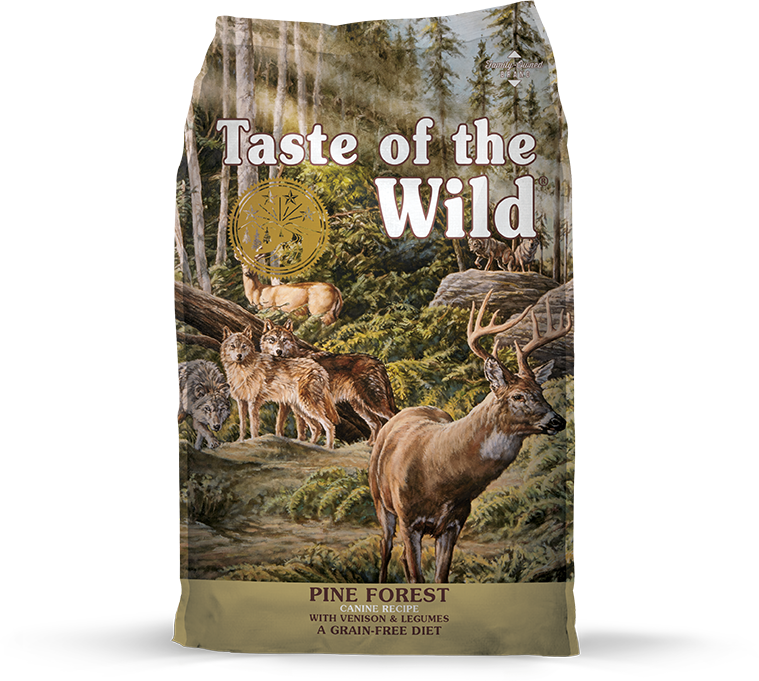 Diamond Taste of the Wild Pine Forest Venison 28 lb Product Image