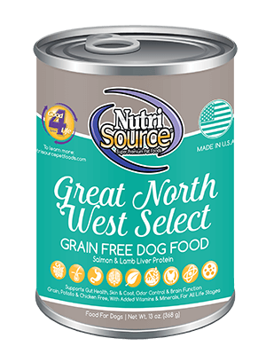 Nutrisource NutriSource Great North West Select Dog Can 13oz Product Image