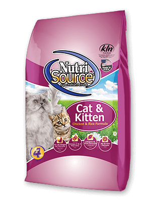 Nutrisource NutriSource Cat & Kitten Chicken and Rice  Food 16 lb Product Image