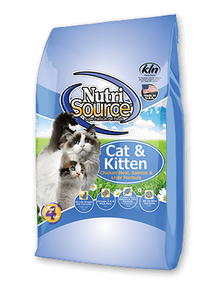 Nutrisource NutriSource Cat & Kitten Chicken, Salmon, and Liver Food 6.6lbs Product Image