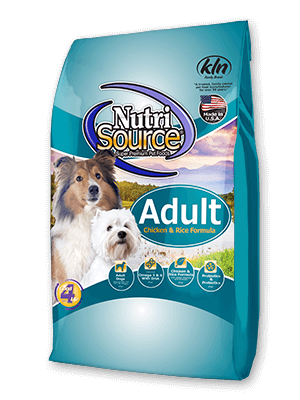 Nutrisource NutriSource Adult Chicken and Rice Dog Dry 5lbs Product Image