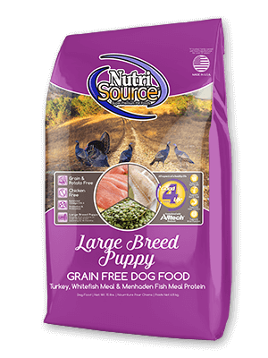 Nutrisource NutriSource Grain Free Large Breed Puppy Dog Dry 5lbs Product Image