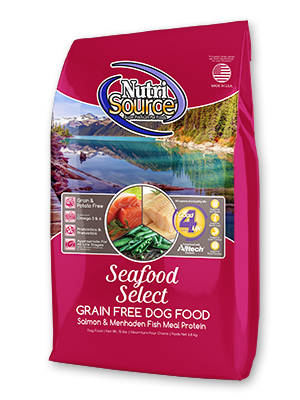 Nutrisource NutriSource Grain Free Seafood Select Dog Dry 15lbs Product Image