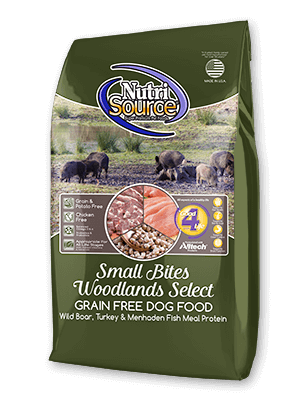 Nutrisource NutriSource Grain Free Small Bites Woodlands Select Dog Dry 15lbs Product Image