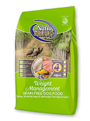Nutrisource NutriSource Grain Free Weight Management Dog Dry 15 lb Product Image