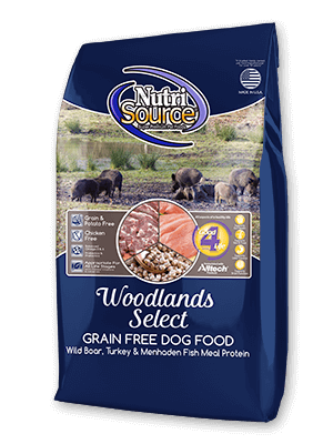 Nutrisource NutriSource Grain Free Woodlands Select Dog Dry 15lbs Product Image