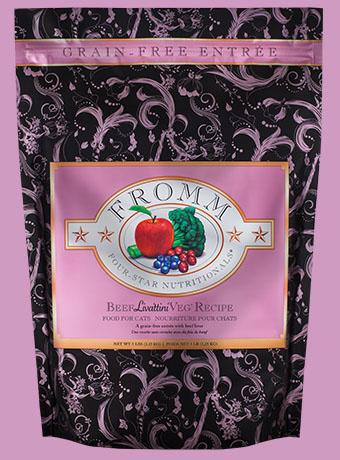 Fromm Fromm 4 Star Grain Free Beef Liva'ttini Veg Cat Food 2lbs Product Image