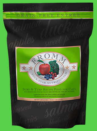 Fromm Fromm 4 Star Grain Free Surf & Turf Recipe Cat Food 5lbs Product Image