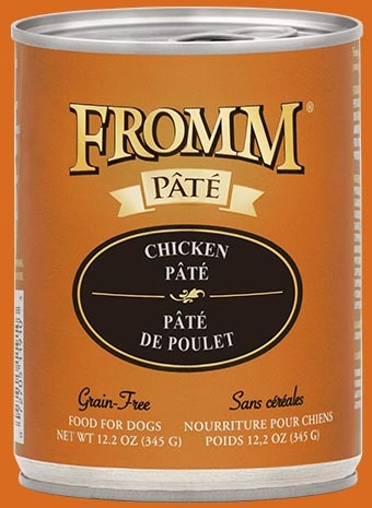 Fromm Fromm Grain Free Chicken Pate' Dog Can 12.2 oz Product Image