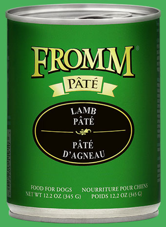 Fromm Fromm Lamb Pate' Dog Can 12.2 oz Product Image