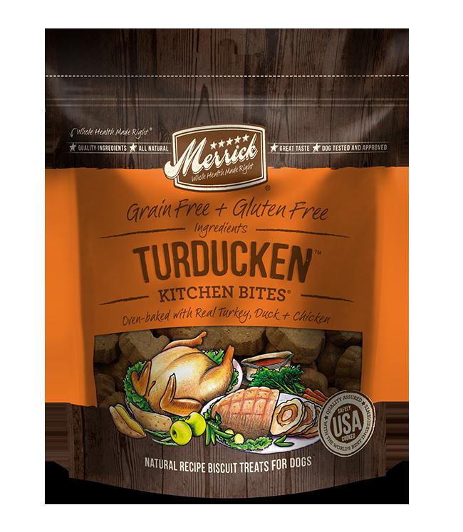 Merrick Pet Foods Merrick Kitchen Bites Turducken Treats 9oz Product Image