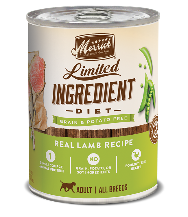 Merrick Pet Foods Merrick LID Lamb Recipe Dog Can 12.7oz Product Image
